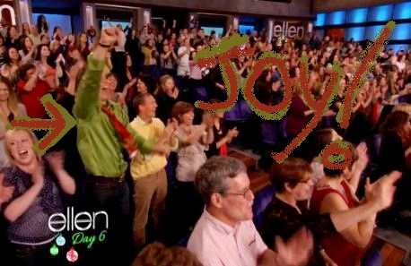 Ellen degeneres audience giveaways