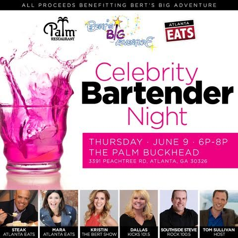 The Palm Celebrity Bartender Night Tom Sullivan