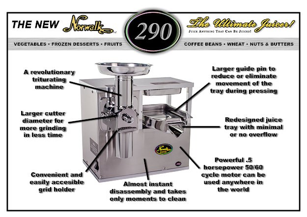 Embling Your Norwalk 290 Juicer Is Easy Here S A Step By Video